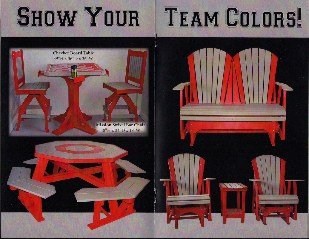 team color poly-furniture